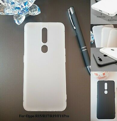 AU6.25 • Buy For Oppo R15 /R17 /R19 /F11Pro Shockproof  Soft Case Frosting Phone Cover