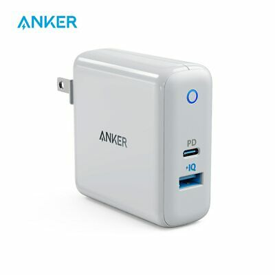AU55.44 • Buy Anker USB C Charger, PowerPort Speed+Duo Wall Charger
