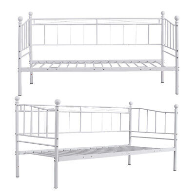 £69.98 • Buy Panana Metal Bed Frame Day Bed 3ft Single Sofa Guest Bed With Mattress Option
