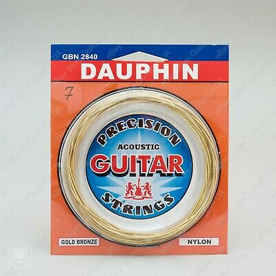 $ CDN11.48 • Buy DAUPHIN Nylon - Bronze Wound Strings For Russian Seven 7 String Classical Guitar