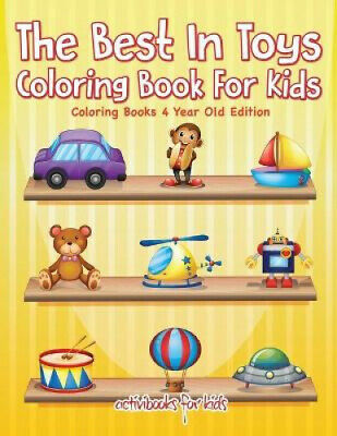 AU21.45 • Buy The Best In Toys Coloring Book For Kids - Coloring Books 4 Year Old Edition.