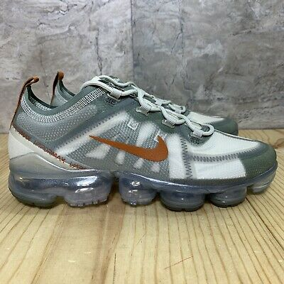 Nike Air Vapormax 2019 Size 12 Vintage Lichen Dark Russet Grey Running Shoes • 124.99$
