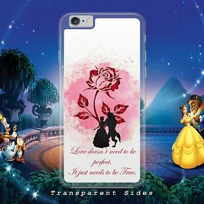 Disney Beauty And  The Beast Love Phone Case Cover For Iphone Samsung Huawei • 4.99£