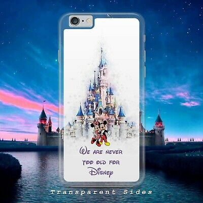 Disney Mickey And Minnie Never Old Phone Case Cover For Iphone Samsung Huawei • 4.99£