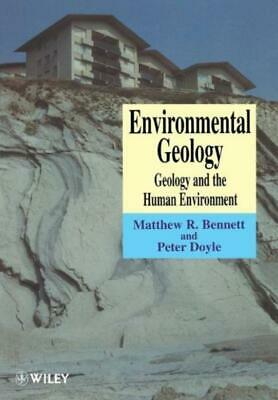 £88.46 • Buy Environmental Geology: Geology And The Human Environment