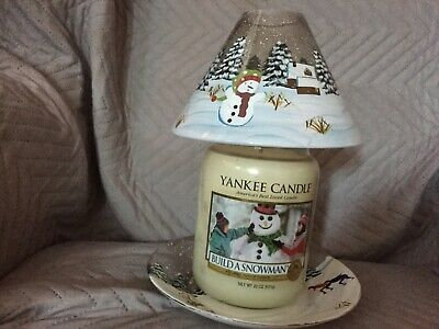 Yankee Candle Christmas Christmas Shade And Tray Set • 30£