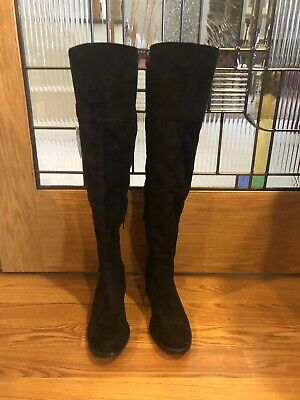 $25 • Buy American Rag Women's Black Over-the-Knee Suede Size 7 Boots. New