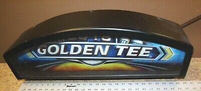 $20 • Buy Golden Tee Live 2018 Lighted Marquee - Metal Box With Plexi And Fixture Inside