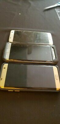 $ CDN423.06 • Buy LOT: 3 THREE Used All Working Samsung Galaxy S7 Edge 32GB Smartphones Verizon