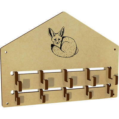 'Fennec Fox' Wall Mounted Coat Hooks / Rack (WH00024002) • 5.99£