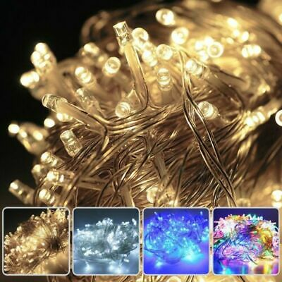 NEW※ 100-500LED Christmas Fairy String Lights Party Garden Indoor&Outdoor Decor • 5.99$