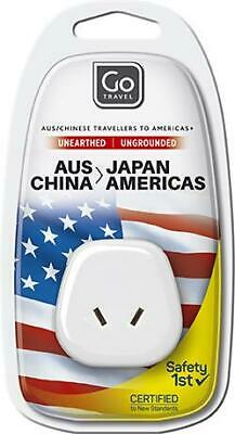 AU7.65 • Buy Go Travel Australia/New Zealand To Japan/USA Adaptor Travel Luggage