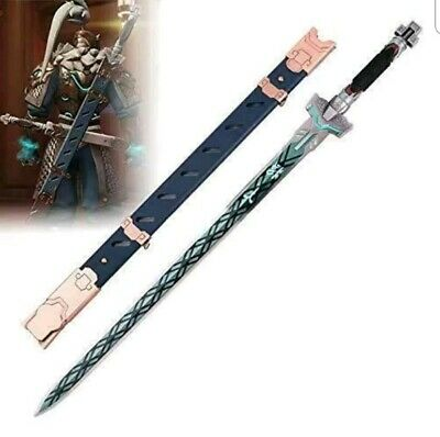 $ CDN200.43 • Buy Overwatch - Baihu Genji's Dragon Blade Sword Cosplay Costume  Replica Game Prop
