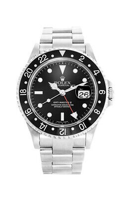 $ CDN12289.49 • Buy Pre-owned Rolex GMT-MASTER II 40mm 16710 Stainless Steel Men's Watch