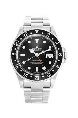 $ CDN12415.03 • Buy Pre-owned Rolex GMT-MASTER II 40mm 16710 Stainless Steel Men's Watch