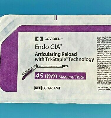 $75 • Buy ENDO GIA BLACK ARTICULATING RELOAD WITH TRI-STAPLE   45mm  EGIA45AMT (X)