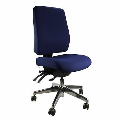 AU375 • Buy Ergoform Heavy Duty Ergonomic Task Office Big Man Large Person Adjustable Chair