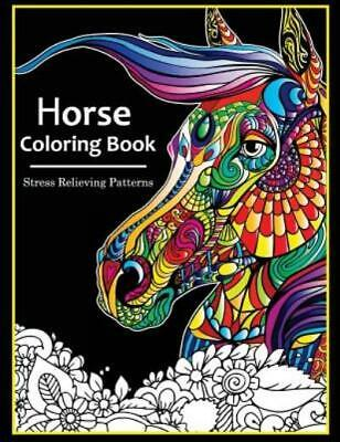 £6.82 • Buy Horse Coloring Books For Adults