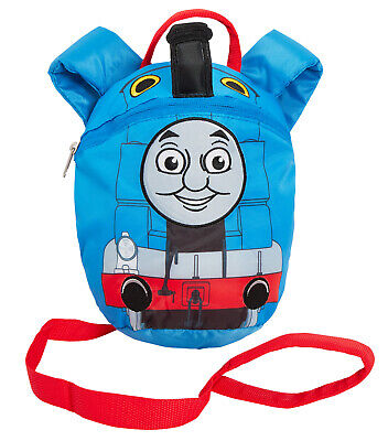 Boys Thomas The Tank Engine Backpack With Reins Bag Kids Safety Harness Nursery  • 12.95£