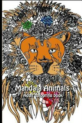 $8.31 • Buy Mandala Animals : Adult Colouring Book By Stephanie Tran (2017, Paperback,...