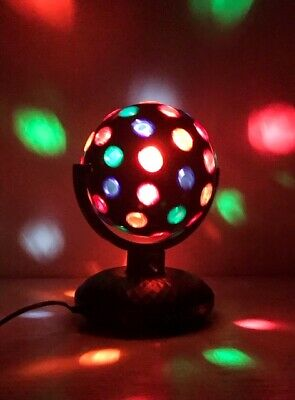 £25.99 • Buy New 9  Rotating Disco Ball For Party/disco/club Christmas Party Stage Disco Blk