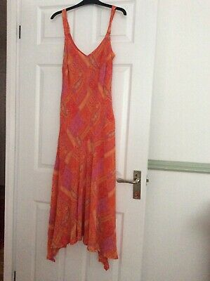 Women's High-Low Hem Dress, Size 14L • 11£