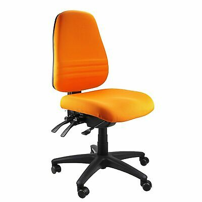 AU375 • Buy Heavy Duty Big Man Large Person Ergonomic Endeavour Task Office Adjustable Chair