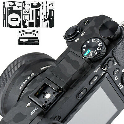 $ CDN15.30 • Buy Camera Body Skin 3M Film Cover Protector For Sony A6500 + SELP1650 16-50mm Lens