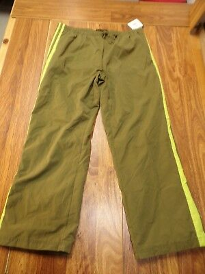 $14.99 • Buy NWT TEK GEAR Pants KOHL'S Green Polyester Casual Athletic Mesh Lined Sz XL Large