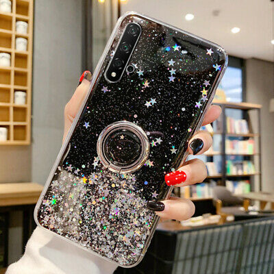 $2.42 • Buy Glitter Sequins Ring Soft Case For Xiaomi F1 8 9 Pro A2 Redmi 6 7A Note 9S 8 Pro