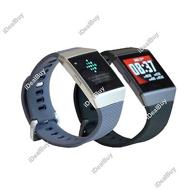 $ CDN169.43 • Buy Fitbit IONIC Smartwatch Bluetooth GPS Activity Tracker S&L Bands New Sealed Box