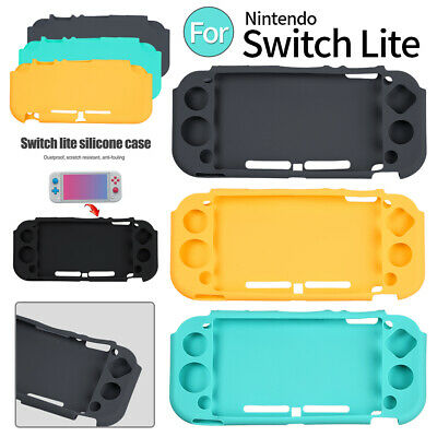 Nintendo Switch Lite Anti-Slip Silicone Protective Skin Case Cover Shockproof • 6.47$