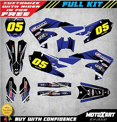 AU179.90 • Buy Custom Decal Kit To Fit Yamaha YZ 250F 2019 2020 Models DIGGER STYLE Stickers