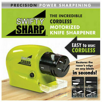 $3.20 • Buy NEW Electric Sharpener For Kitchen Knife/Knives/Scissors/Blades/Screw Drivers