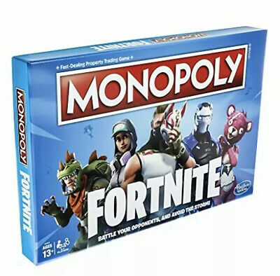 $ CDN14.97 • Buy Monopoly: Fortnite Edition Board Game - Fort Night Family Property Trading Game