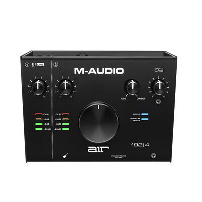 $119 • Buy M-Audio AIR 192|4 - 2-In 2-Out USB Audio Interface With Recording Software