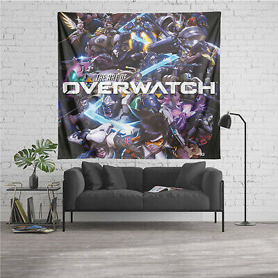 AU38.62 • Buy Overwatch Personalized Custom Tapestry Art Wall Hanging Home Decor