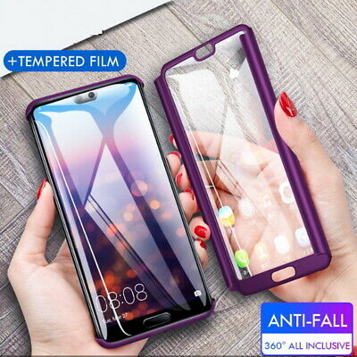 AU4.59 • Buy For Huawei Mate 20 Lite P30 P20 Pro 360° Full Protection Hard Hybrid Case Cover