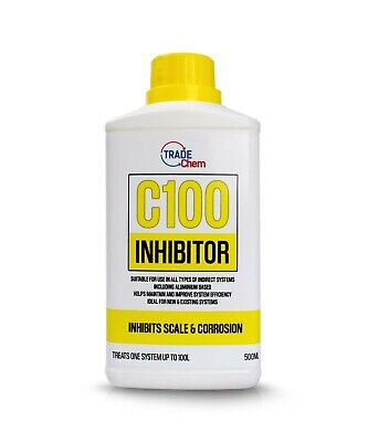 C100 Concentrated Inhibitor 500ml - Boiler Central Heating System Protector • 6.90£
