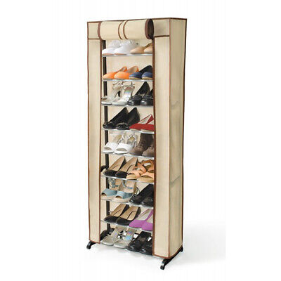 AU31.13 • Buy 30 Pair Shoe Rack With Cover