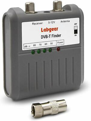 Labgear 27866R DVB T Signal Strength Finder Freeview HD TV Aerial Meter Tester  • 13.47£