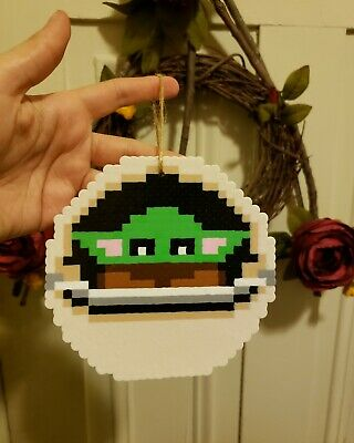$15 • Buy Baby Yoda Aka The Child Perler Ornament From The Mandalorian