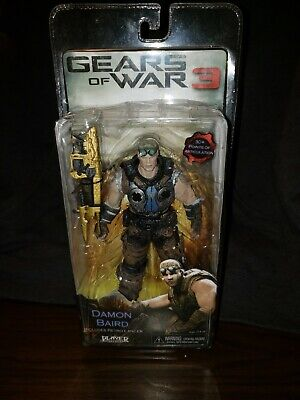 $39 • Buy Gears Of War 3  NECA Action Figure Damon Baird Gold Lancer