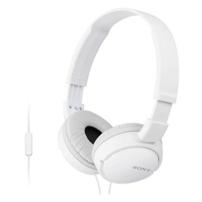Sony Over Ear Sound Monitoring Headphones With Smartphone Mic & Control - White  • 18.95£