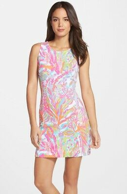 Pre-owned Lilly Pulitzer Scuba To Cuba Whiting Dress Size M Medium • 39$