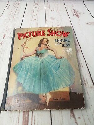 £22 • Buy 1937 Film Picture Show Annual, Anna Neagle Fred Astaire Jean Harlow Fay Wray