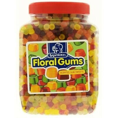 Squirrel Floral Gums Full Jar 2.25kg • 14.95£