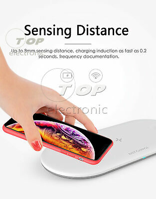 $ CDN6.50 • Buy 3In 1 Qi Wireless Charger Fast Charging Pad For Apple Watch IWatch IPhone X/8