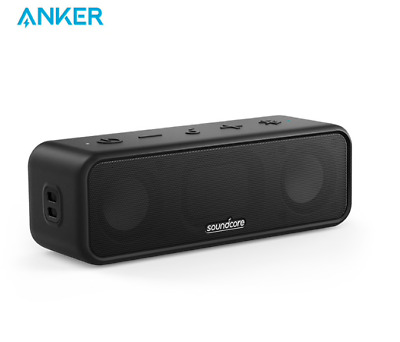 AU64.35 • Buy Anker SoundCore 3 Portable Bluetooth Wireless Speaker Better Bass 24H Playtime