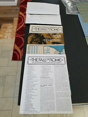 The Fall Of Rome Strategy & Tactics 39 Punched  • 12$